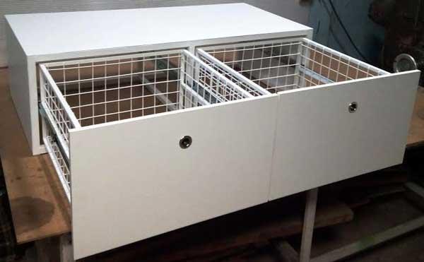 тумба-под-стиральную-машину-двойная