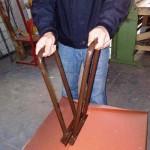 Рамка для закрытия фальца модернизированная