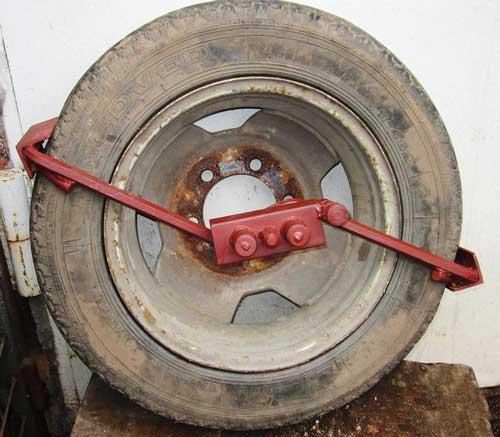 Крабы на колеса для бездорожья своими руками 4